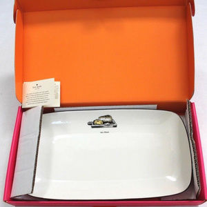 kate spade Cause A Stir Say Cheese Porcelain Tray